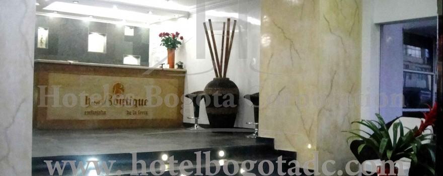 Lobby hotel boutique de la feria bogota